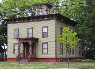 The First Joseph Clark house. I think I'd have to have this one. I like the cupola.