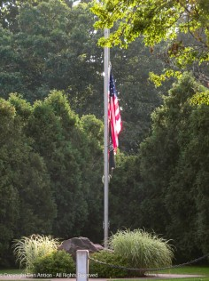 Every now and then (I'm sure there's a schedule) the flags are lowered in CT for the virus victims.