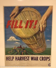 Developed by the War Food Administration to recruit workers to harvest crops.