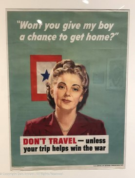 """There are arguments on both sides of whether these posted really are """"propaganda."""" Keep in mind, there was no Internet, no social media and extremely little television. These posters were an important means of communications."""