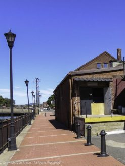 City Joinery - a woodworking shop along the first canal in Holyoke, MA.