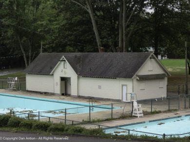 The pool at Martin Park in East Hartford.