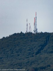 That the transmission array at the summit of Mt. Tom where Faith and I hiked in late August.