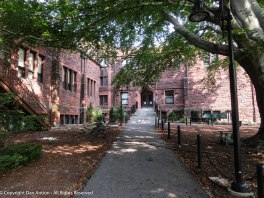 I'm not of college age, and Mount Holyoke is a women's college, but I could enjoy walking up to that entrance.