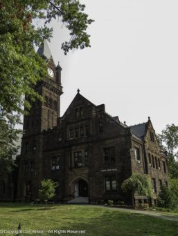 Built in 1897 on the site of the Seminary Building after its destruction by fire in 1896, Mary Lyon Hall is used to house administrative offices, classrooms, and a chapel.