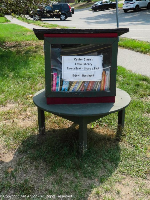 Center Church Little Library.