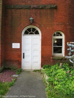 Chapel and meeting rooms entrance.