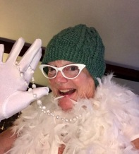 Jennie provided this image of her best flapper attempt. I love it.