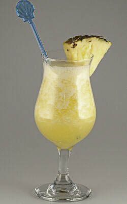 Pineapple Daiquiri - Teagan's drink today.