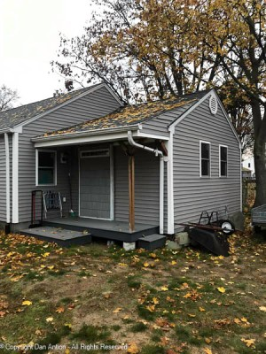 Before I can call it quits, the leaves have to come off the roof, out of the gutters and off the ground.