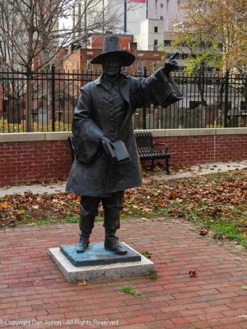 Rev. Samuel Stone First Church Teacher and 2nd Pastor Co-Founded Hartford with Thomas Hooker 1602-1663