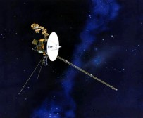 NASA - artist conceptual drawing of the Voyager spacecraft.