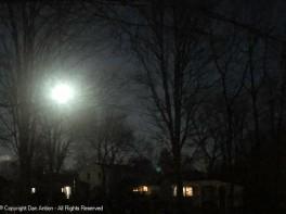 Winter Cold Moon - Full moon, December 29, 2020.