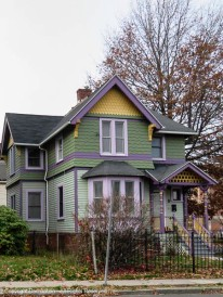 Nice details on this victorian.