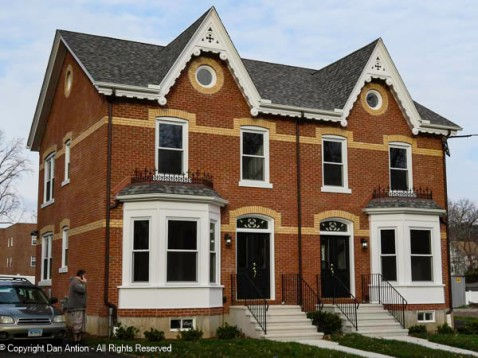This is a complete renovation of a very nice house. Looks like it/they will be on the market soon.
