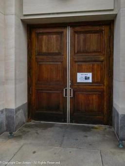 Side door to St. Joseph's Cathedral.