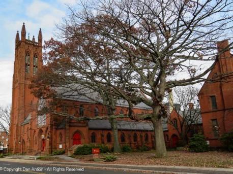Trinity Church complex.