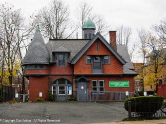This is the carriage house today and I really like this house.