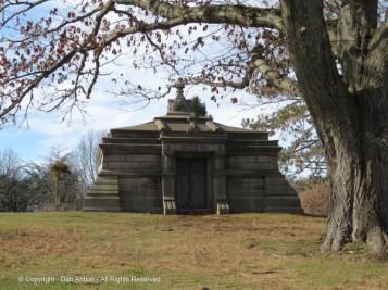 Tomb at Cedar Hill Cemetery.