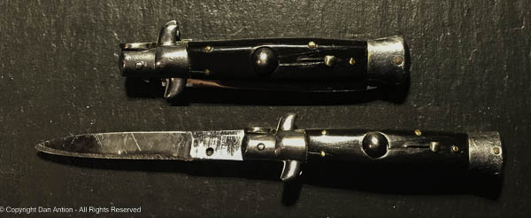 This switchblade dates from the time of that Twilight Zone episode.