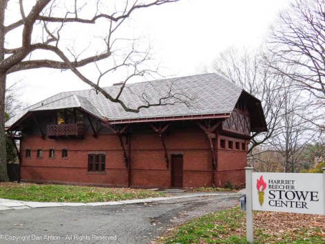 That is part of the Mark Twain House complex.