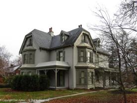 Harriet Beecher Stowe House - looking southeast.