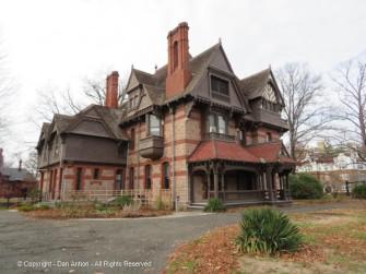 Katharine Seymour Day House - gables and gables and gables.