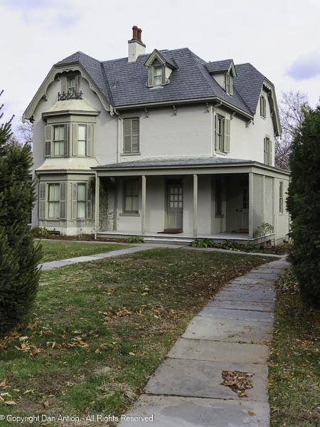 Harriet Beecher Stowe house. Back porch.