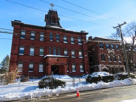 another view of the St Mary's School buildings.