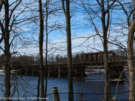 Railroad crossing at the Connecticut River