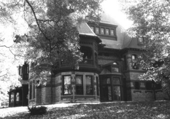 Katharine Seymour Day House from the NRHB Nomination form - looking southeast.