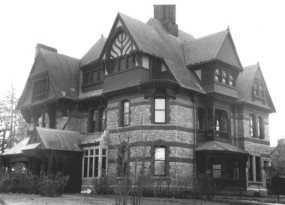 Katharine Seymour Day House from the NRHB Nomination form - looking northwest.