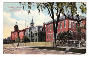 Historic postcard of St Mary's Convent and School.
