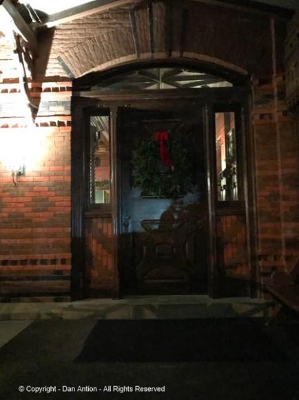Main entrance to the Twain House.