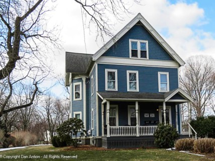 This house is was built in 1840 and appears to be in excellent shape.