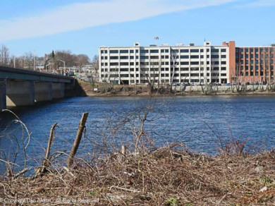 The Connecticut River is running high.