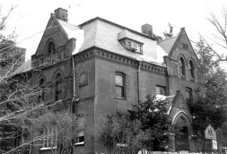 This is St Johns Rectory. I didn't pass this building on my walking tour, This is a NRHB photo.