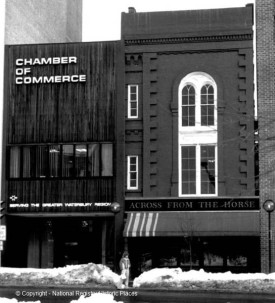 Across from the Horse as I remember it. In February 1983, when this was taken, I could have been inside.