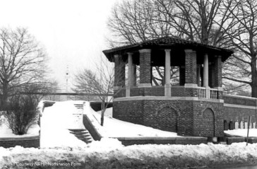 This is from the NRHP nomination form in 1983 - Gazebo in Library Park.