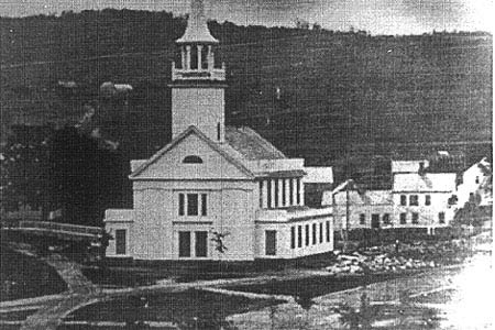 This is the second version of St. John's Episcopal Church.