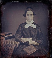 Harriet Leonard Hale Fox - 1/4-plate daguerreotype, circa 1852. Ann Longmore-Etheridge Collection