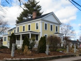 According to the NRHP, during the Victorian period, this house had lavender trim.