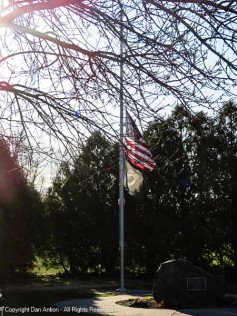 Back at half staff but the State website doesn't give a reason.