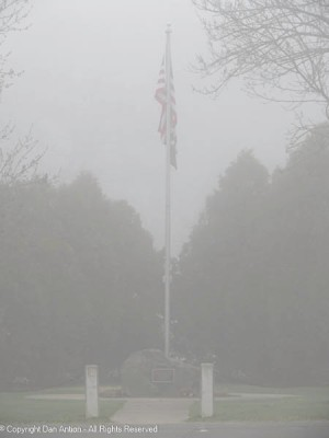 Even in the fog, it's a wonderful sight.