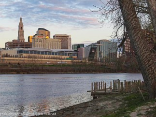 Hartford from Great River Park.