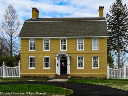 Classic Dutch Colonial. 12-over-12 windows - a New England standard.