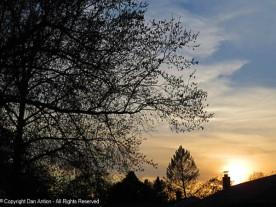 A recent sunset.