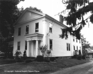 Leonard Fox house - Captain Leonard Fox maintained a fleet of freight boats that operated out of Keeney Cove