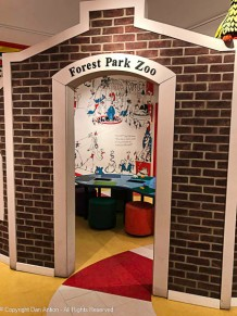 Forest Park is the largest park in Springfield. Dr. Seuss's father would have been in charge of it and its zoo.