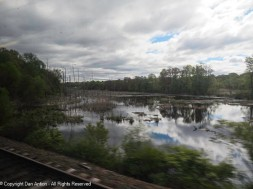 The area around Enfield, CT is quite swampy.